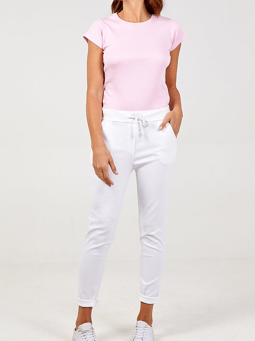 Magic Trousers Plain Size 1 White