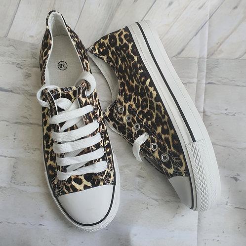 Jennie Canvas Leopard
