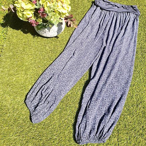Harem Trousers Navy