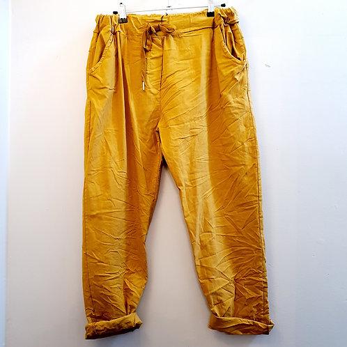 Magic Trousers Plain Size 2 Mustard