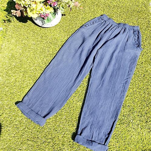 Sorrenta  Trousers Navy