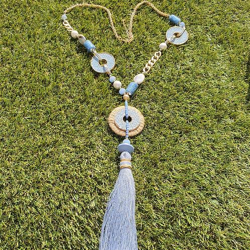 Mimi Rainbow Tassel Necklace