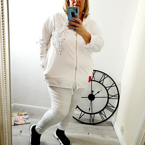 Vivien Star Hoody White
