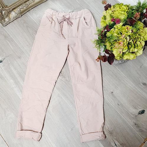 Magic Trousers Plain Size 1 Light Pink