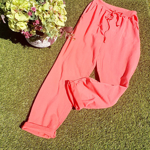 Tilly  Coral Joggers Size 2