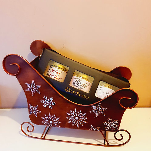 Girly Candle  Tin Gift Set