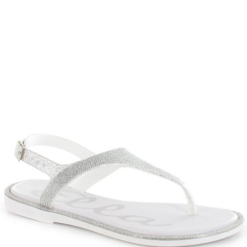 Ella Chrissy Summer Sandal Silver