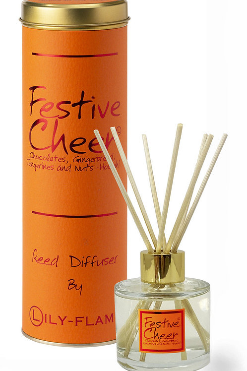 Lily Flame Festive Cheer Reed Diffuser