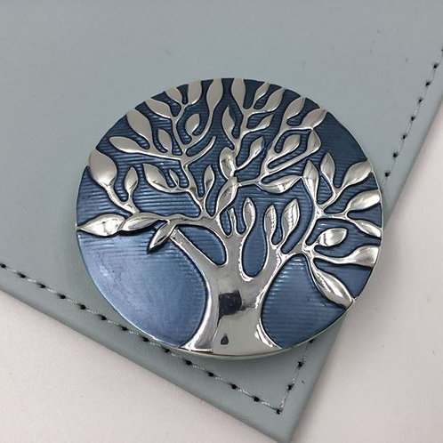 Tree of Life Magnet Brooch