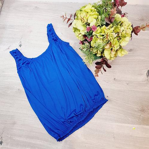 Belinda Plain Vest Cobalt Blue