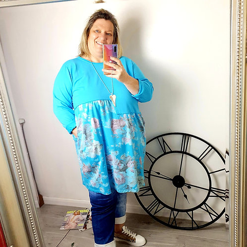 Blossom Tunic Teal