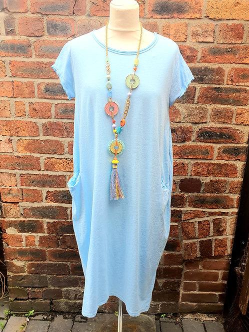 Jessie Midi Dress Light Blue