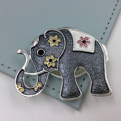 Elephant Magnetic Brooch