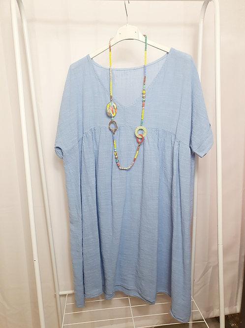 Boho Top/Dress Light Blue