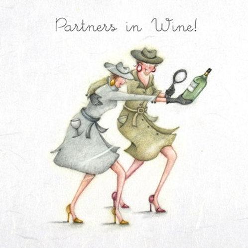 Partners In Wine Bernie Parker Designs