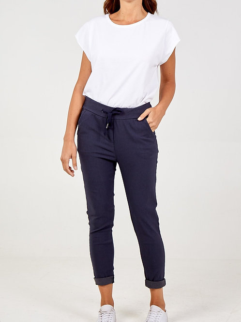 Magic Trousers Plain Size 1 Navy