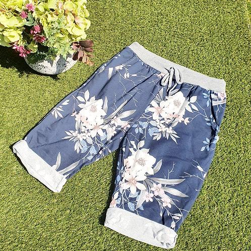 Shorts Floral Size 1 Dark Floral
