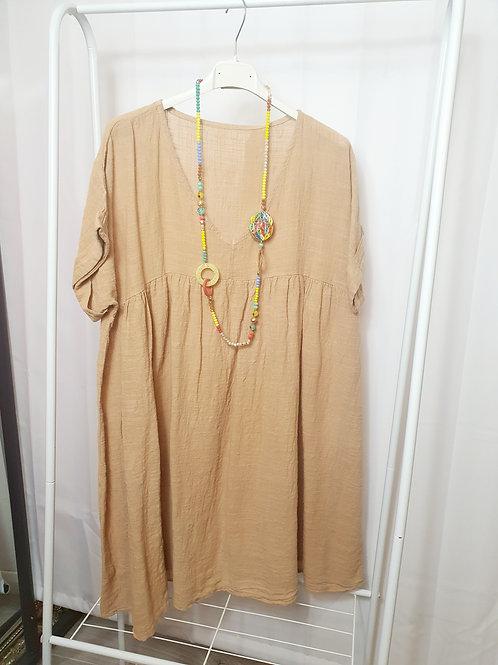Boho Top/Dress Natural