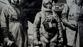 Smaranda Brăescu, the first female parachute-jumper