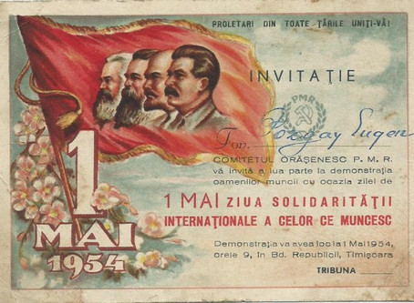 Celebrating Labor Day in Communist Style