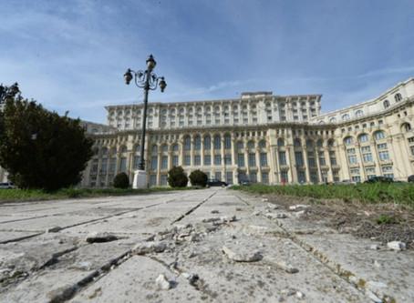 Bucharest's Communist Landmark on the 30 year anniversary of the revolution
