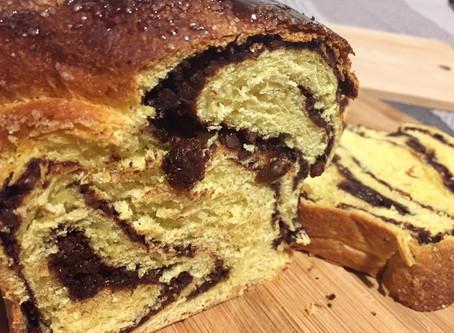 The traditional sweet of Romania - Cozonac