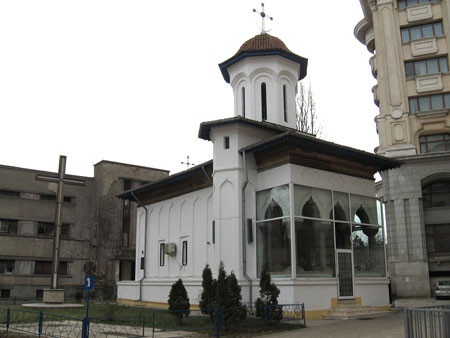 The Nuns' Convent: the first church to be moved during Ceausescu's Communist regime