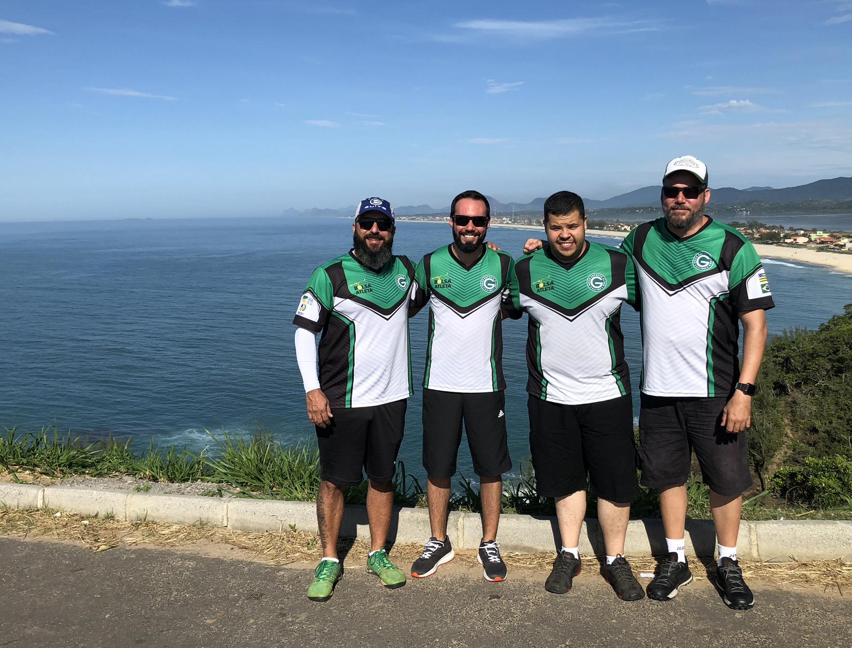 Max, Fred, Thiago e Henrique