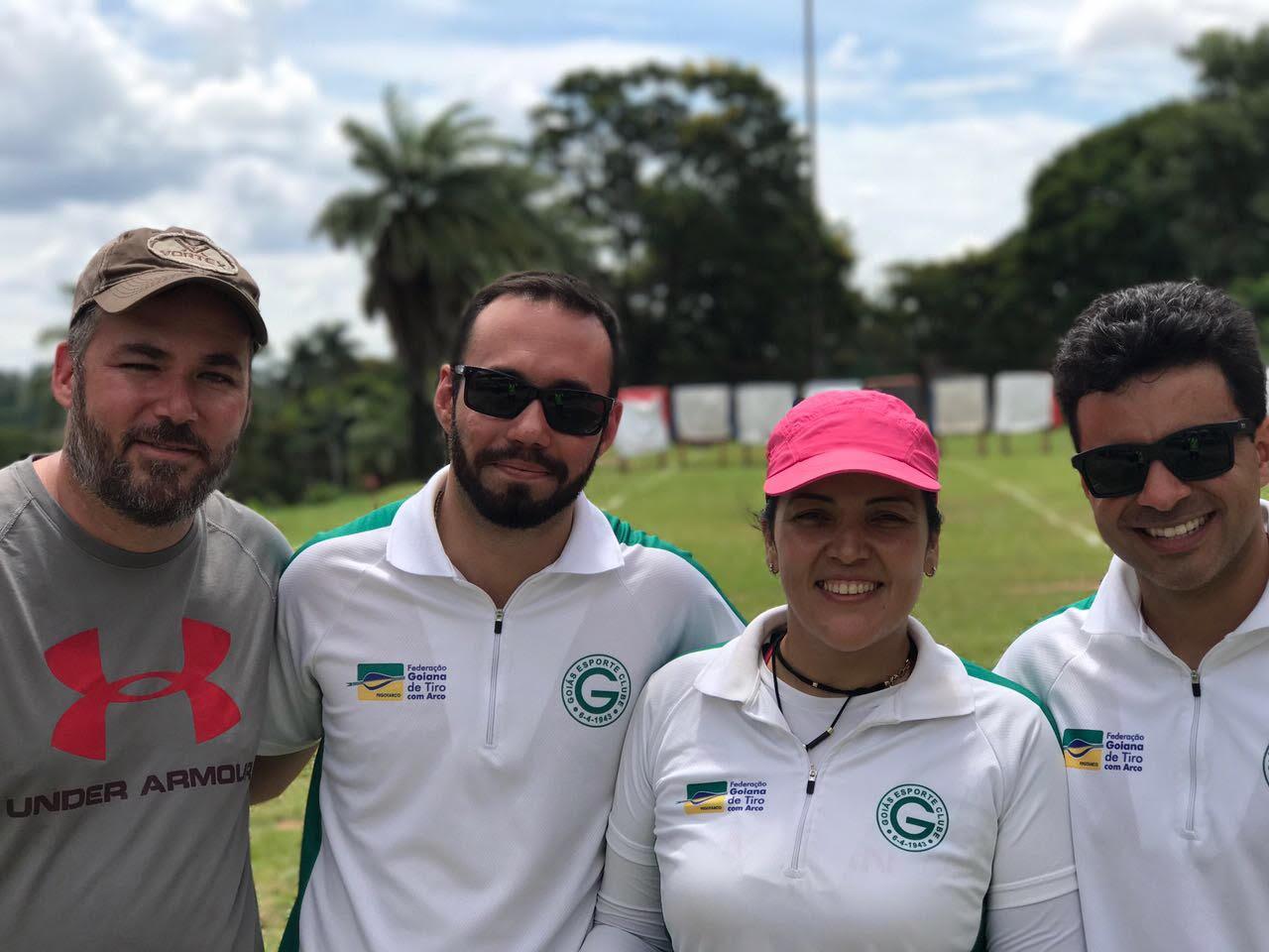 Henrique, Frederico, Jane e Marcelo