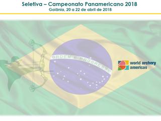 Seletiva - Panamericano 2018