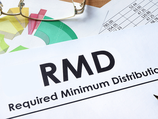 November 2019: Required Minimum Distribution (RMD)