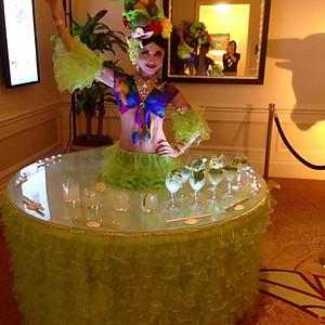 Carmen Miranda at The Ritz-Carlton Key Biscayne, Miami.