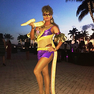 Our Snake Charmer  at Midtown Athletic Club in Weston, FL.