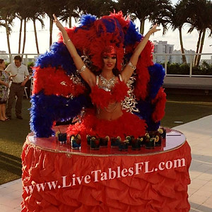 The Brazilian Carnival Themed Event at W Fort Lauderdale.