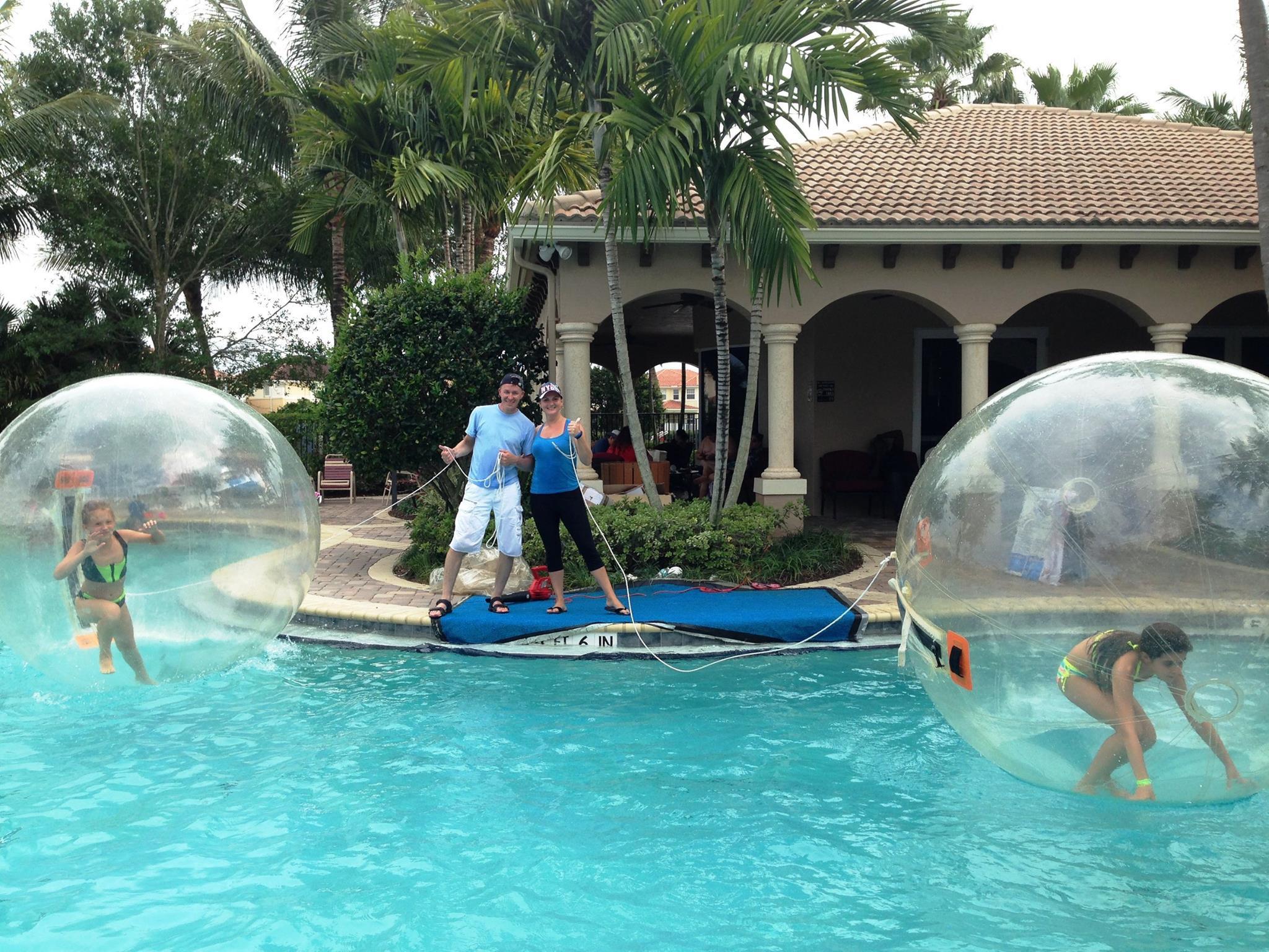 Water Balls Attraction