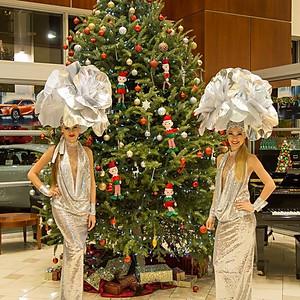 Lexus Holiday Gala 2018 at Lexus of North Miami.