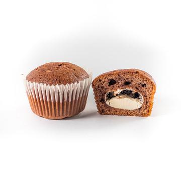 Маффины шоколадные с начинкой  «Пломбир»