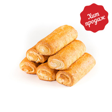 Печенье творожное с начинкой «Пломбир»