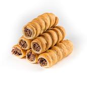 Трубочки слоеные с шоколадной начинкой