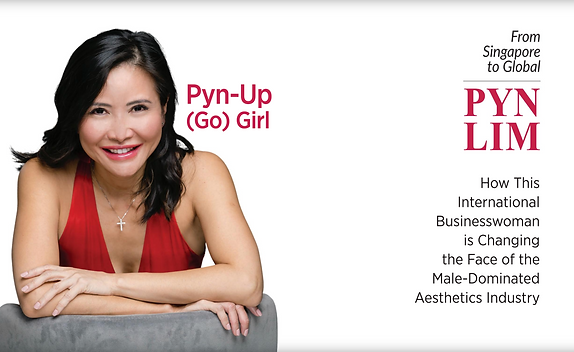 Pyn Lim's Lead-In GoGirl Cover Story Win