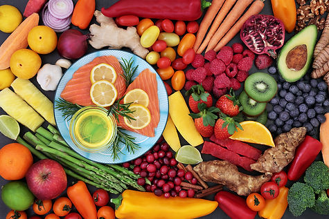 bigstock-Food-for-good-heart-health-wit-