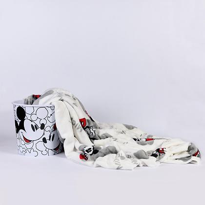 Riachuelo - Balde de Pipoca com Manta Mickey