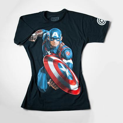 Piticas - Camiseta  Capitão América