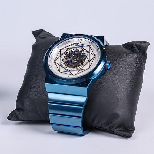 ChilliBeans - Relógio azul de metal