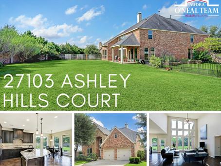 27103 Ashley Hills Court!