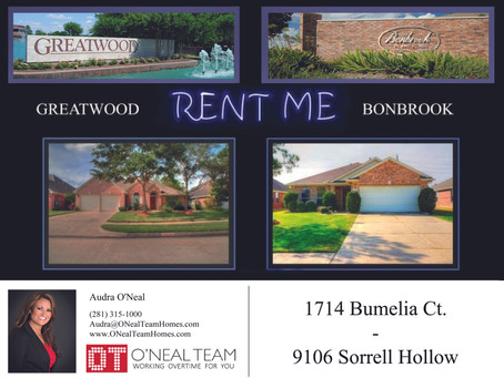 Properties for Lease!