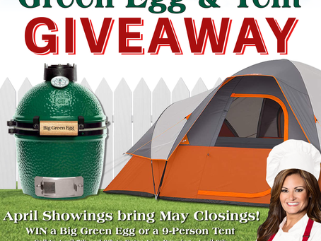 Green Egg and Tent Giveaway