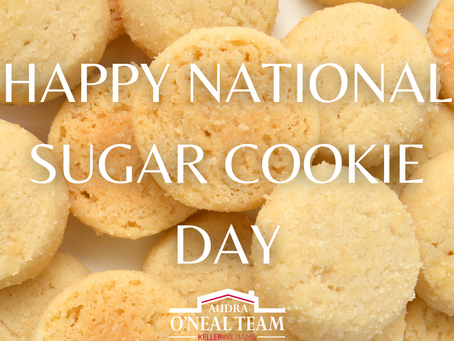 Happy National Sugar Cookie Day