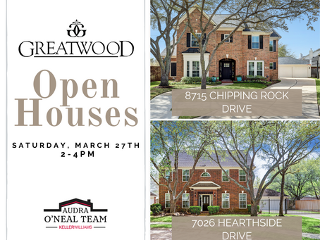 Greatwood Open Houses