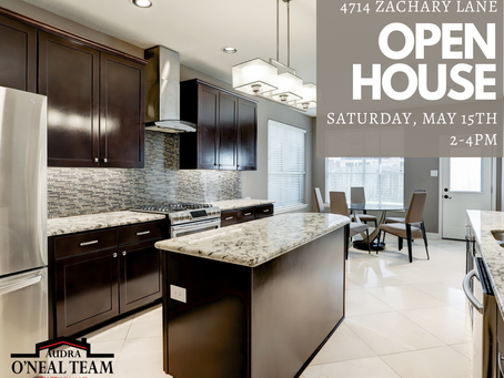 May 15th Open House!